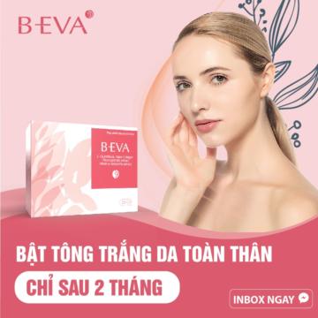 Uống B-EVA bật tone trắng hồng